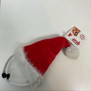 NWT Pet Santa hat Headband